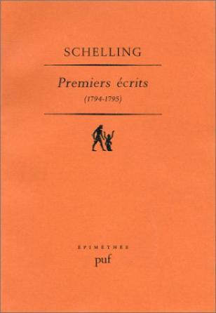Premiers écrits, 1794-1795
