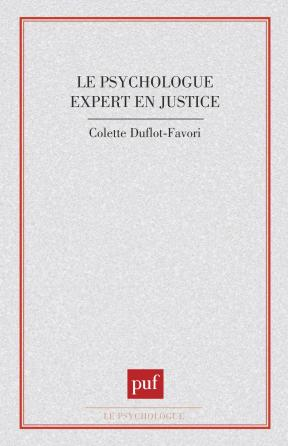 Psychologue expert en justice