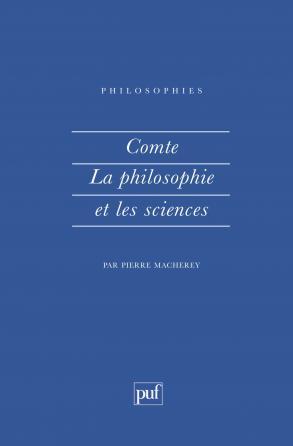 Comte. La philosophie et les sciences
