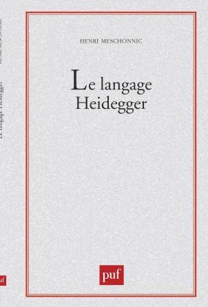 Le langage Heidegger