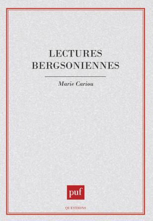 Lectures bergsoniennes