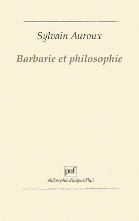 Barbarie et philosophie