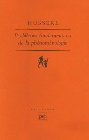 Problèmes fondamentaux de la phénoménologie