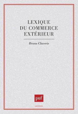 Lexique du commerce extérieur