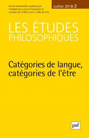 études philosophiques 2018, n° 3