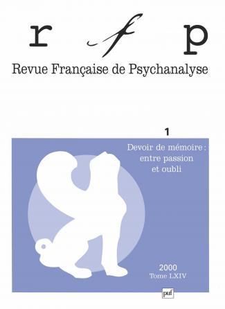 RFP 2000, t. 64, n° 1