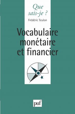 Vocabulaire monétaire et financier