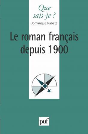 Le roman français depuis 1900
