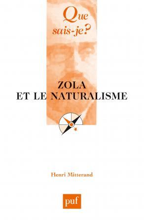 Zola et le naturalisme
