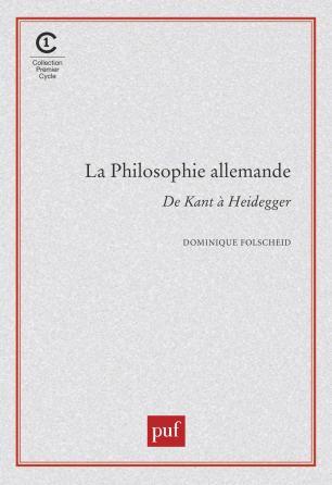 La philosophie allemande