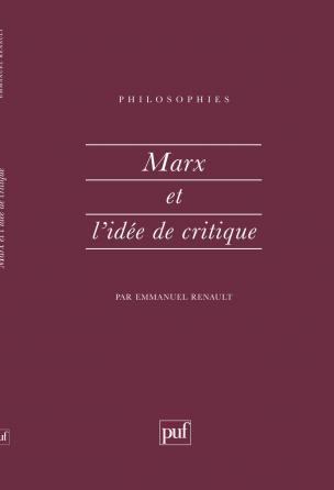 Marx et l'idée de critique