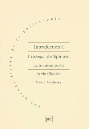 Introduction à l'Éthique de Spinoza. 3e partie