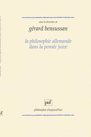 La philosophie allemande dans la pensée juive