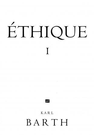 Éthique I