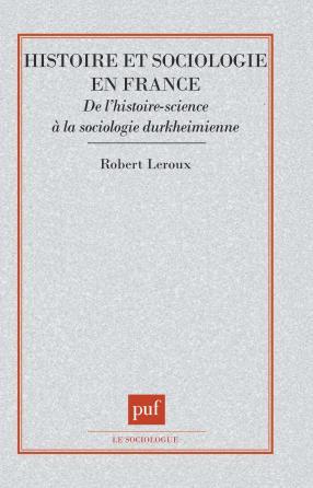 Histoire et sociologie en France