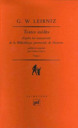 Textes inédits de G. W. Leibniz