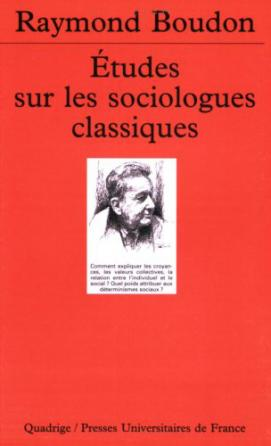 Études sur les sociologues classiques, I