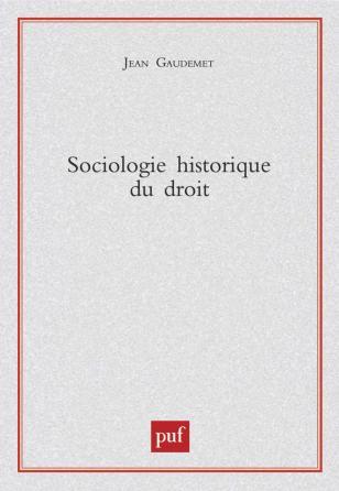 Sociologie historique du droit