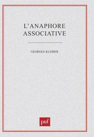 L'anaphore associative