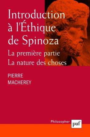 Introduction à l'Éthique de Spinoza. La première partie