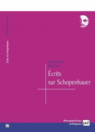 Écrits sur Schopenhauer