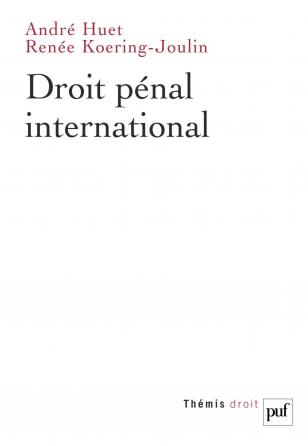 Droit pénal international