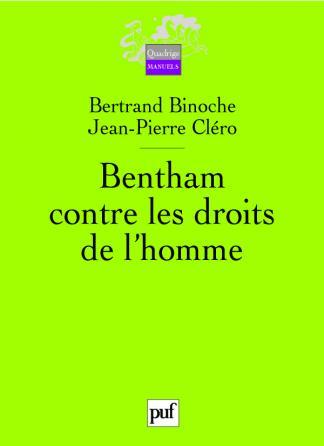 Bentham contre les droits de l'homme
