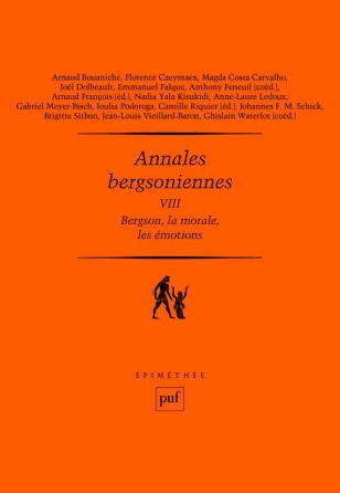 Annales bergsoniennes, VIII