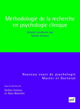 Méthodologie de la recherche en psychologie clinique