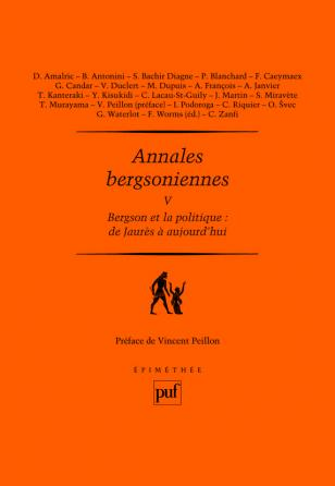 Annales bergsoniennes, V