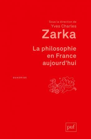 La philosophie en France aujourd'hui