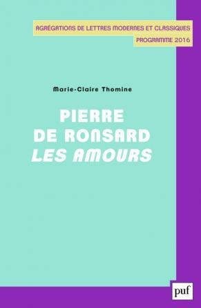 Pierre de Ronsard, Les Amours