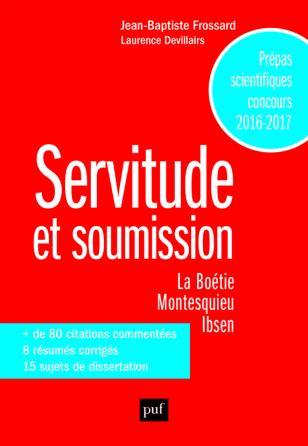 Servitude et soumission