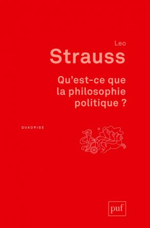 Qu'est-ce que la philosophie politique ?