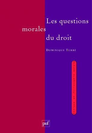 Les questions morales du droit