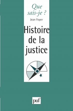 Histoire de la justice