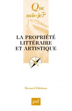 La propriété littéraire et artistique