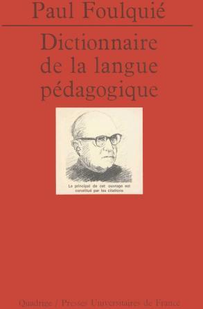 Dictionnaire de la langue pédagogique