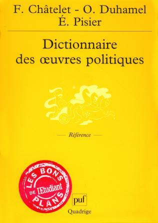 Dictionnaire des œuvres politiques