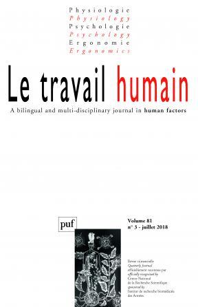 Le Travail humain 2018, vol. 81 (3)