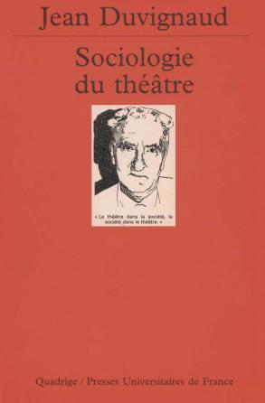 Sociologie du théâtre
