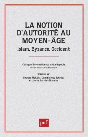 La notion d'autorité au Moyen-Âge