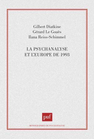 La psychanalyse et l'Europe de 1993