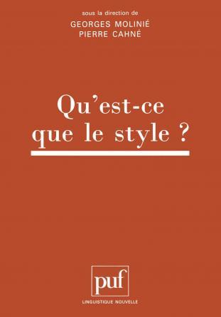 Qu'est-ce que le style ?