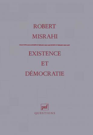 Existence et démocratie