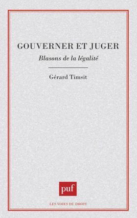 Gouverner ou juger