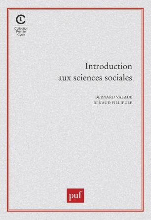 Introduction aux sciences sociales