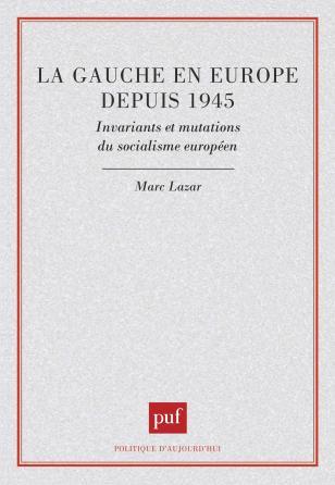 La gauche en Europe depuis 1945