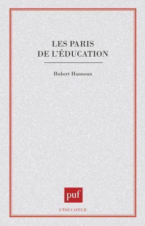 Les paris de l'éducation