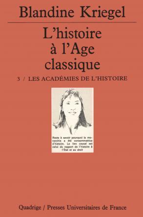 L'histoire de l'âge classique. Tome 3